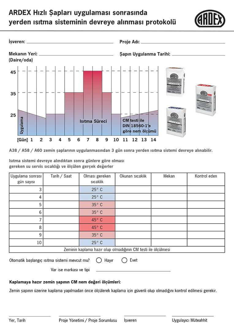 Yerden Isıtma Protokolü Kapak Sayfası