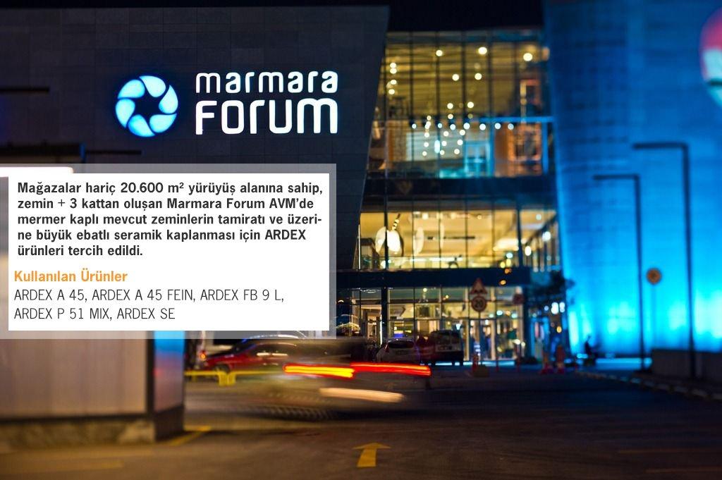 Marmara Forum AVM Yenileme Projesi 1